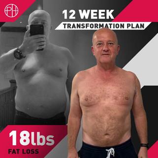 16. Paul Hunter - 12 Week Program - 18lb