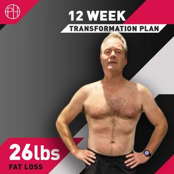 25. Ian Bailey 12 Week Program - 26lbs l