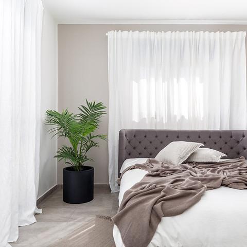 מירב דקל _ עיצוב חדר שינה הורים