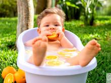 Delicioso banho relaxante