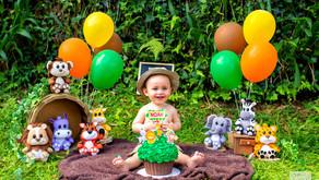 Safari do Noah - Smash the cake