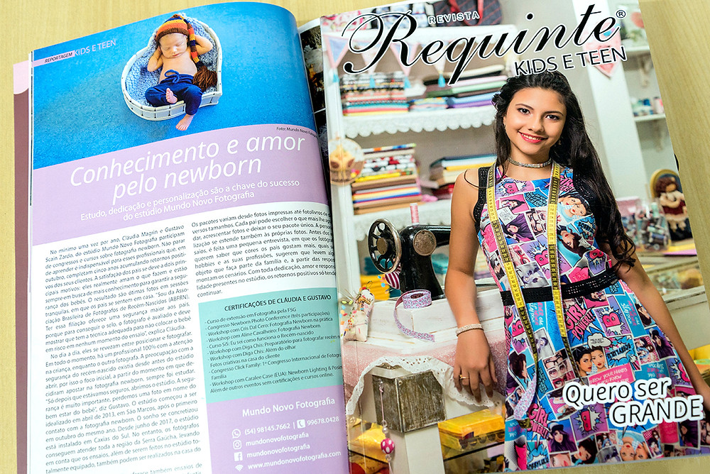 Revista Requinte Kids e Teen