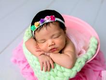 Newborn Maria Cecília - 19 dias