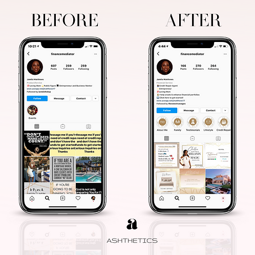 Instagram Makeover Deluxe