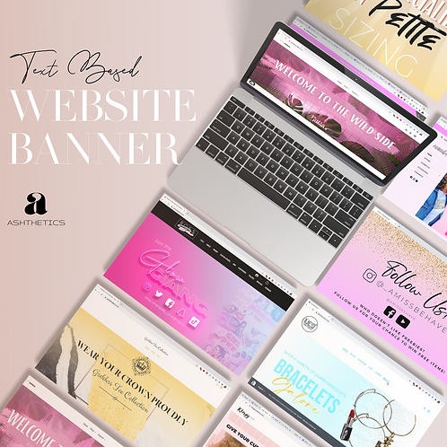 Web Banner - Text Based