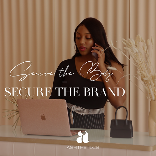 Secure the Bag = Securing the Brand