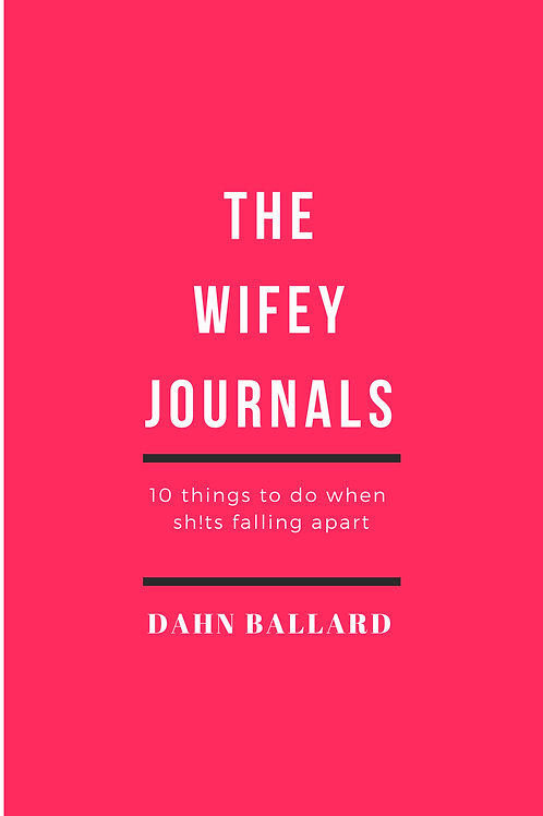 "copy of HARDCOVER ""The Wifey Journals"" Can Be Autographed"