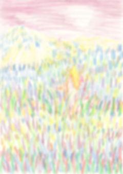 3_dacing_A4(29,7x21cm)_color pencil_2019