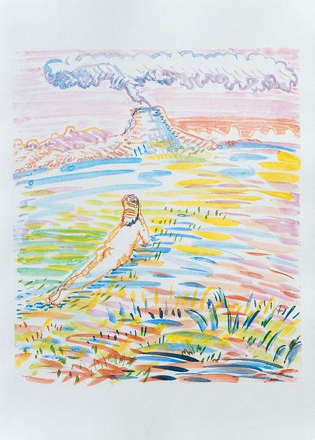 14_volcano_41,5x29,7cm_monotype(water co