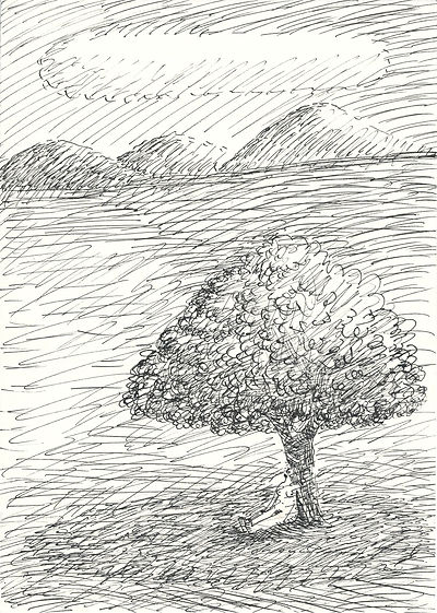 12_under the tree_A4(29,7x21cm)_inkl_201