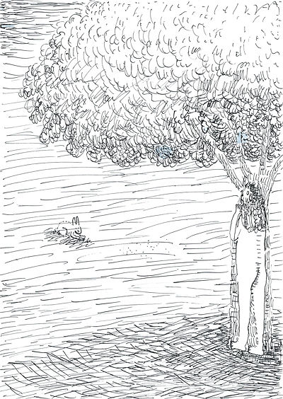 8_rabbit and girl_A4(29,7x21cm)_inkl_201
