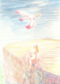 2_watching big bird_A4(29,7x21cm)_color
