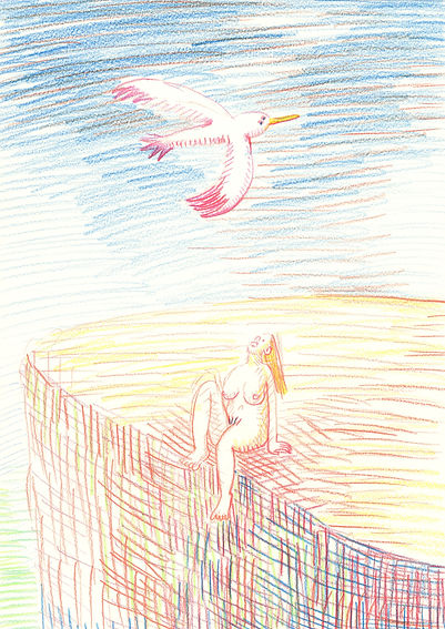 2_watching big bird_A4(29,7x21cm)_color