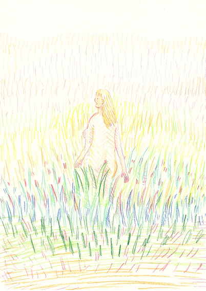 1NEW_10.April_on the meadow_A4(29,7x21cm