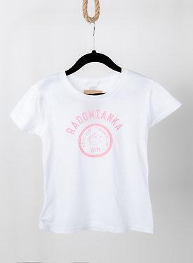 Koszulka dziewczęca RADOMIANKA white