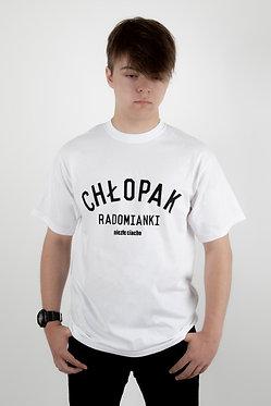 T-shirt CHŁOPAK RADOMIANKI WHITE/BLACK