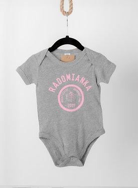 Body niemowlęce RADOMIANKA grey