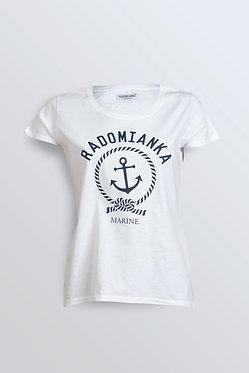 T-shirt MARINE white