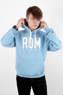 Bluza z kapturem błękitna RDM Radom