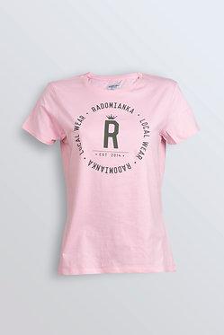 T-shirt pink CLASSIC