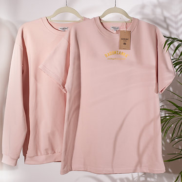 T-shirt oversize pink_live
