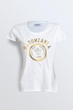 T-shirt BASIC gold
