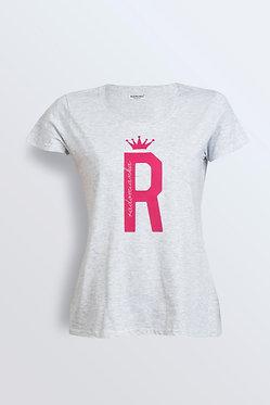 T-shirt R mocny róż
