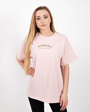 T-shirt oversize pink