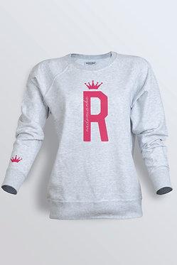 "Bluza  grey ""R"""
