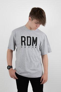 T-shirt RDM GREY/BLACK