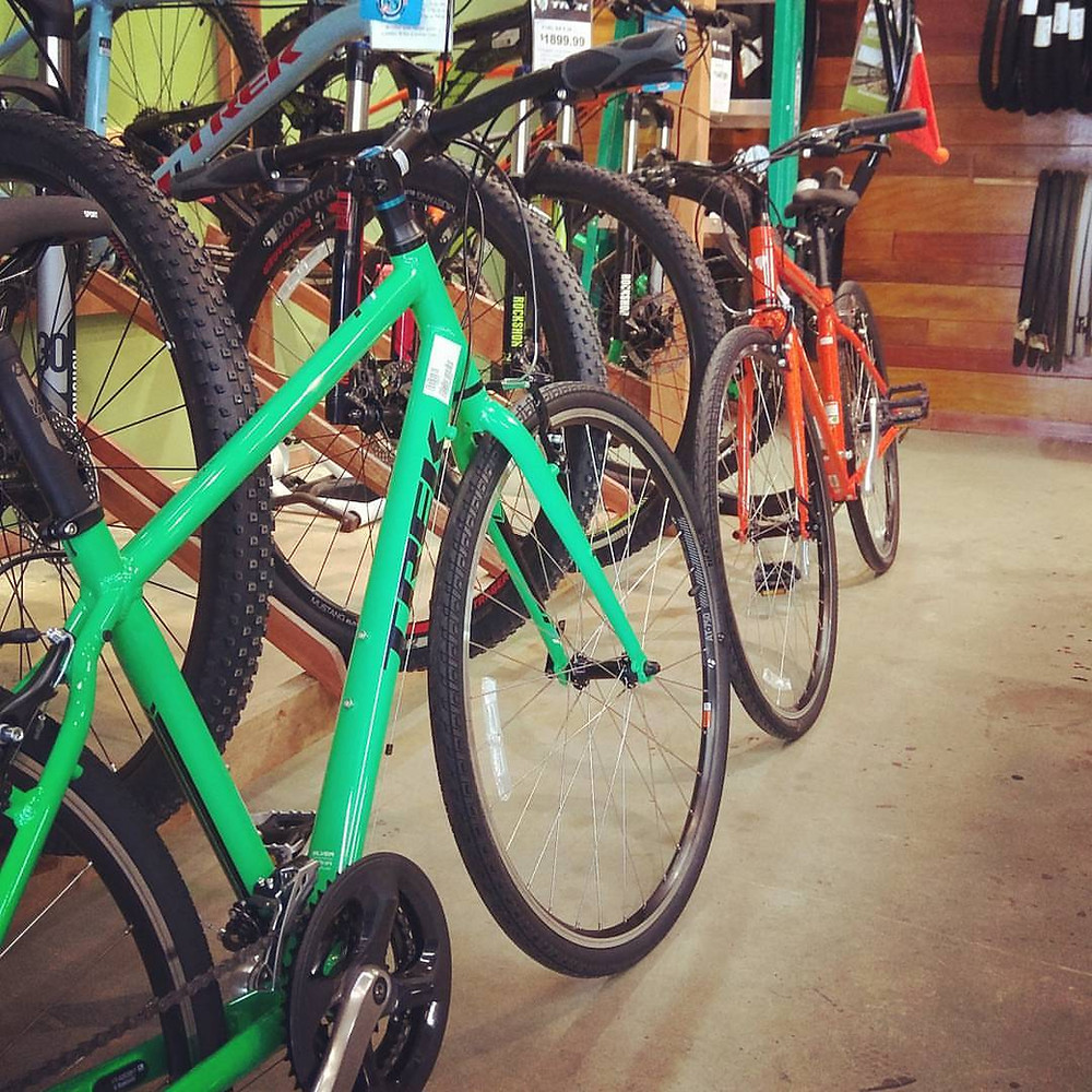 Denton Bicycle Center UNT Mean Green Trek