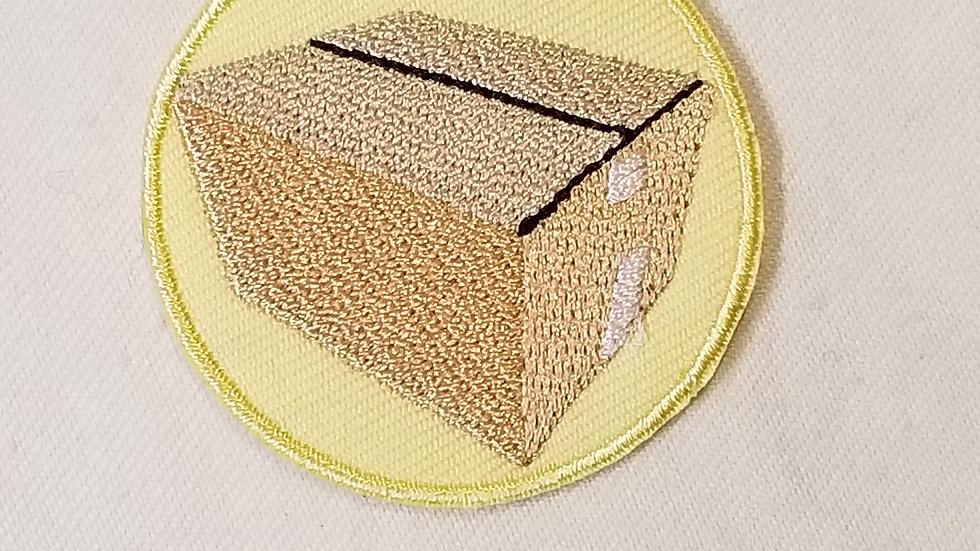 Cardboardi B Iron-On Patch