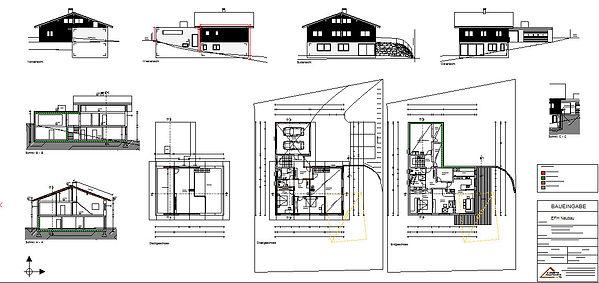 Baueingabe, Einreichplanung, Planung