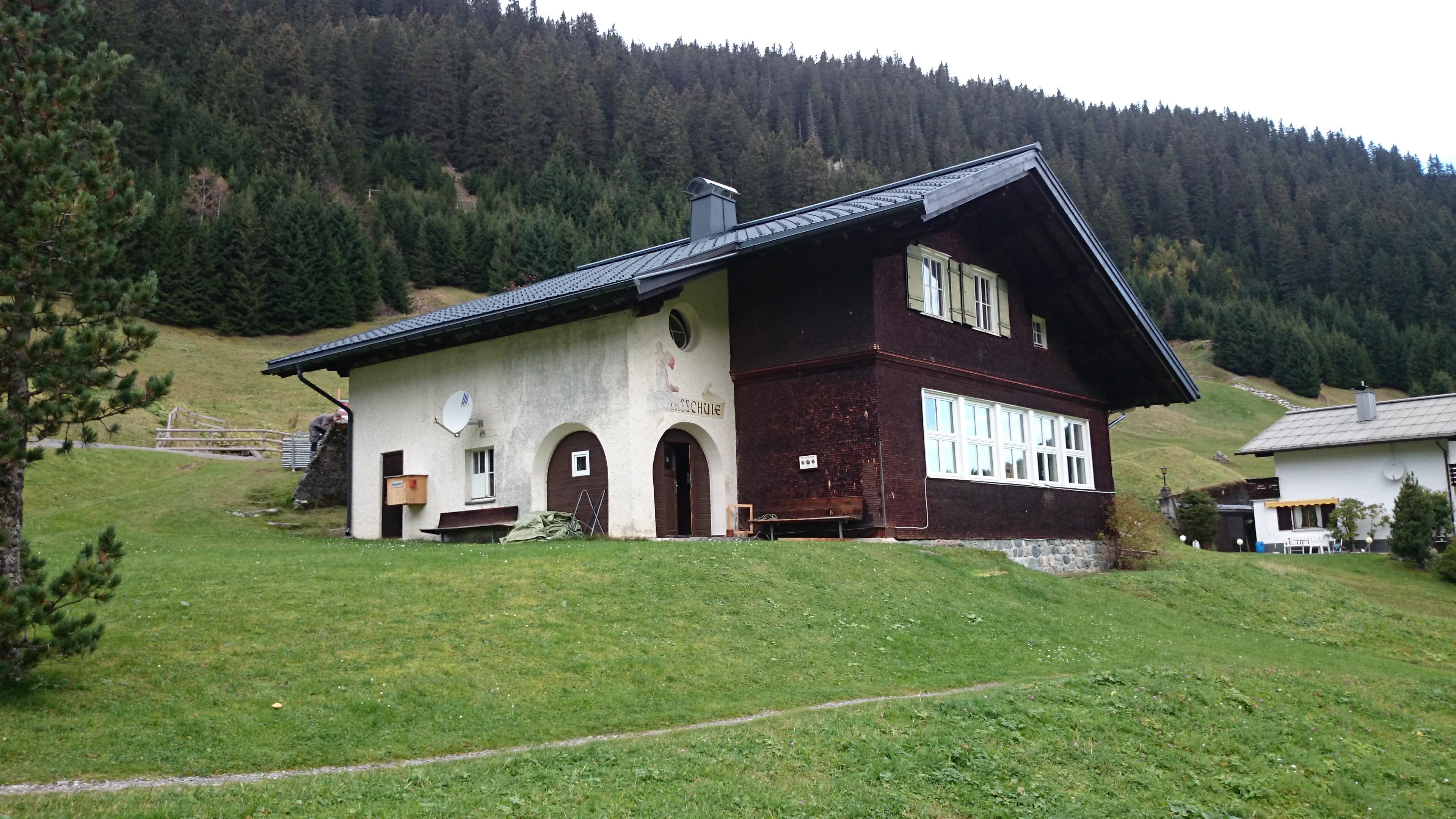 Schulhaus Gargellen