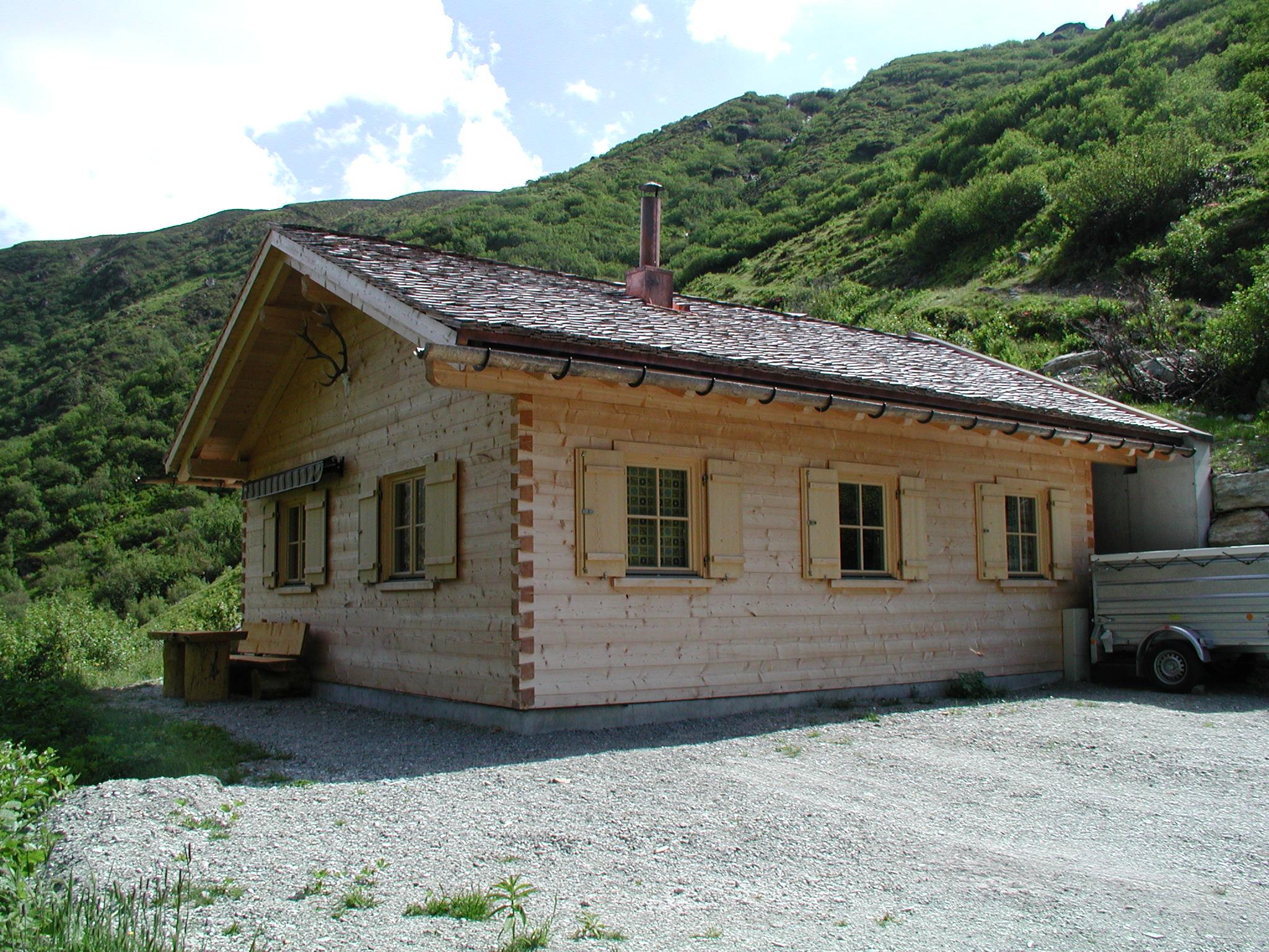 Jagdhütte Vergalda, Gargellen