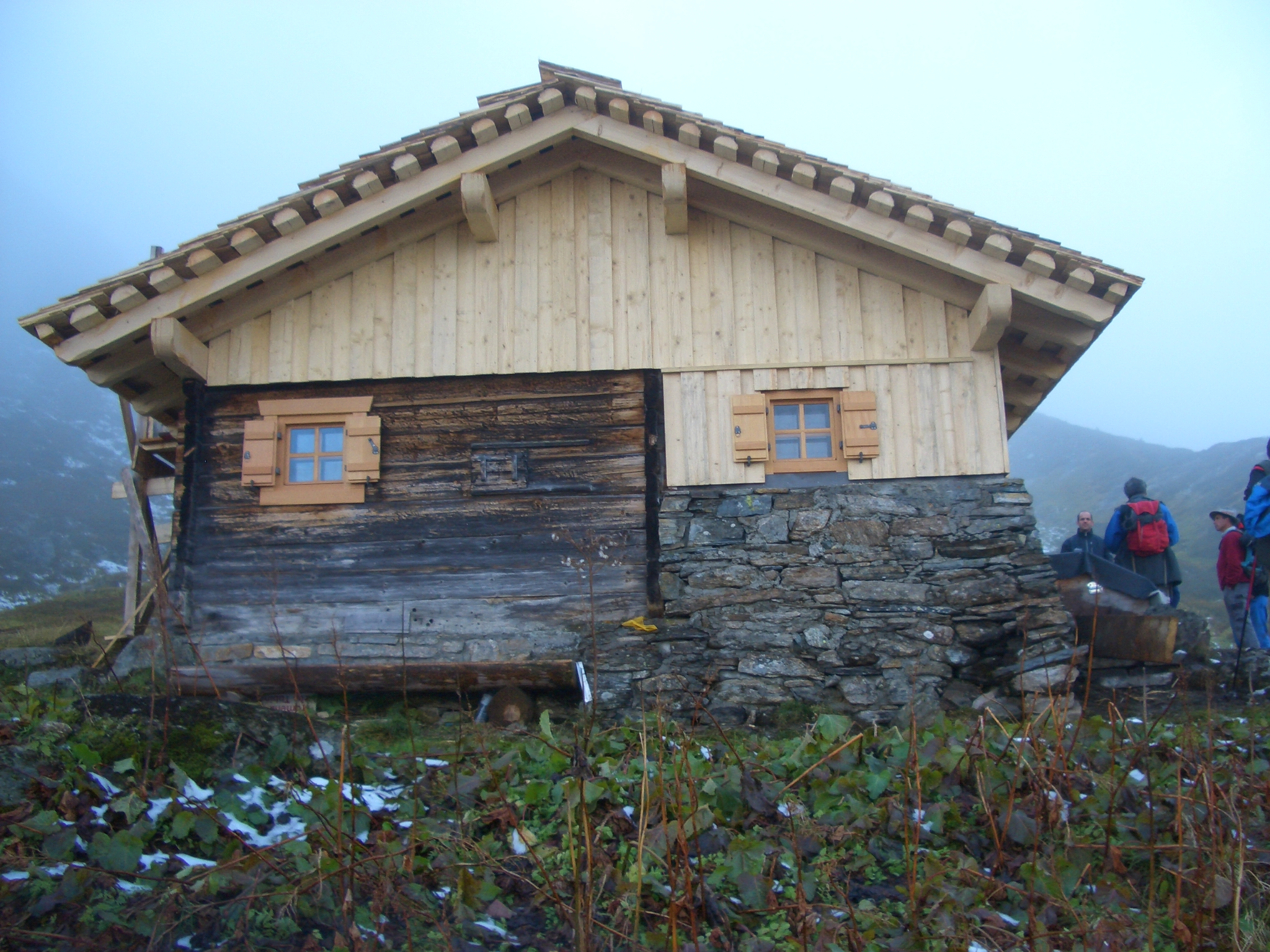 Alphütte Obertrominier