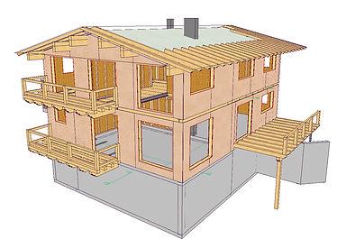 Werksatz, Holzbau, Planung