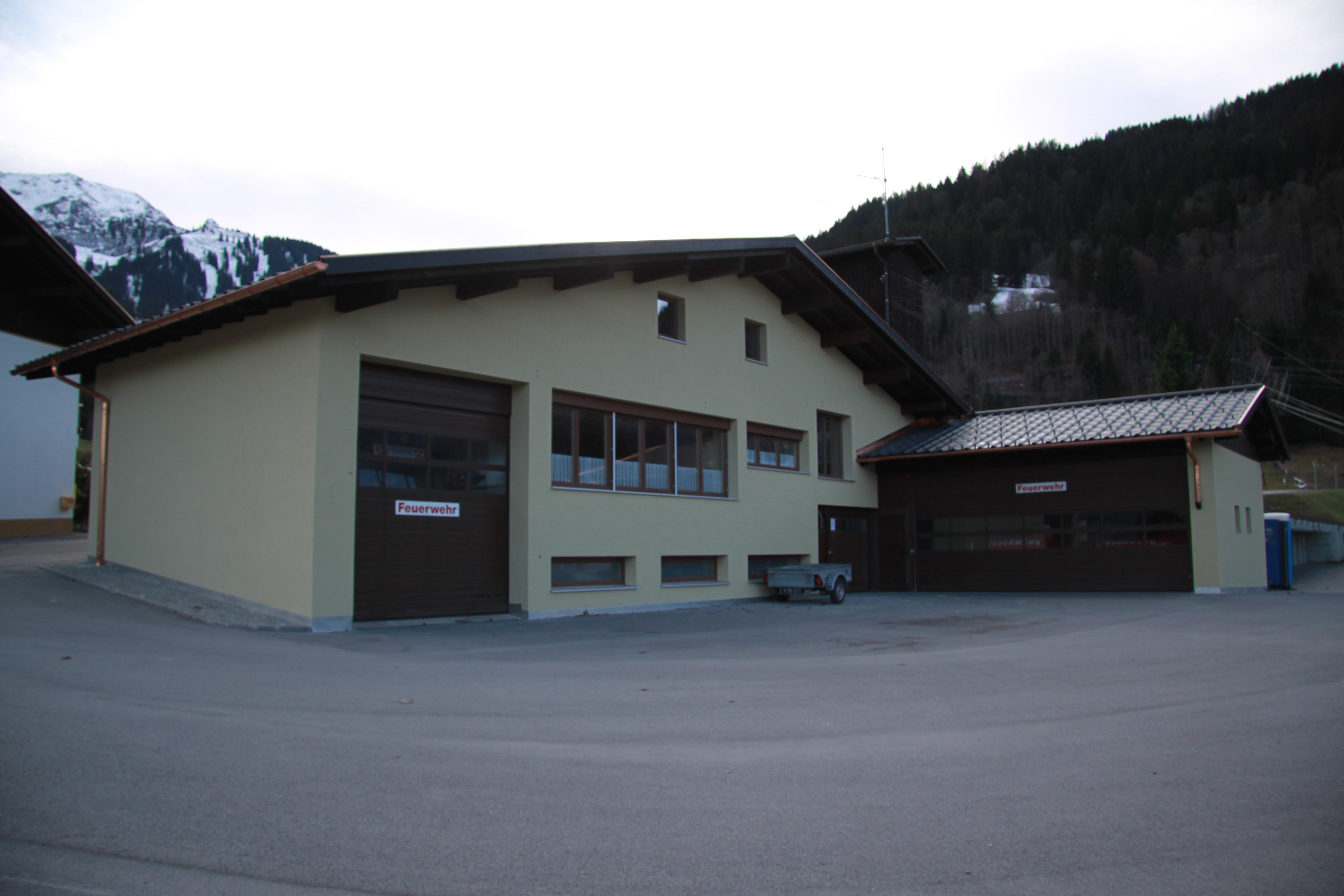 Feuerwehrhaus Latschau, Tschagguns