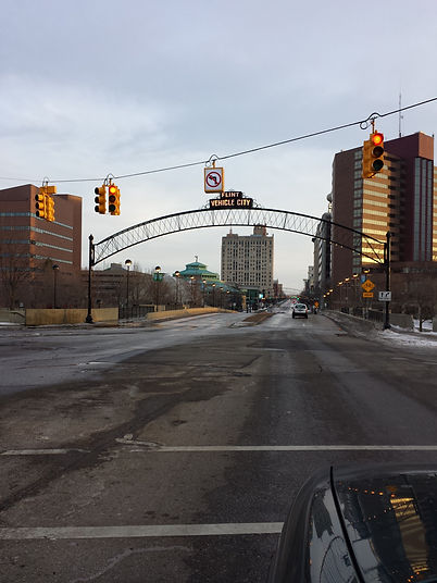 Entrance to downtown Flint, MI..jpg