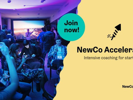 The NewCo Accelerator services and program are here!