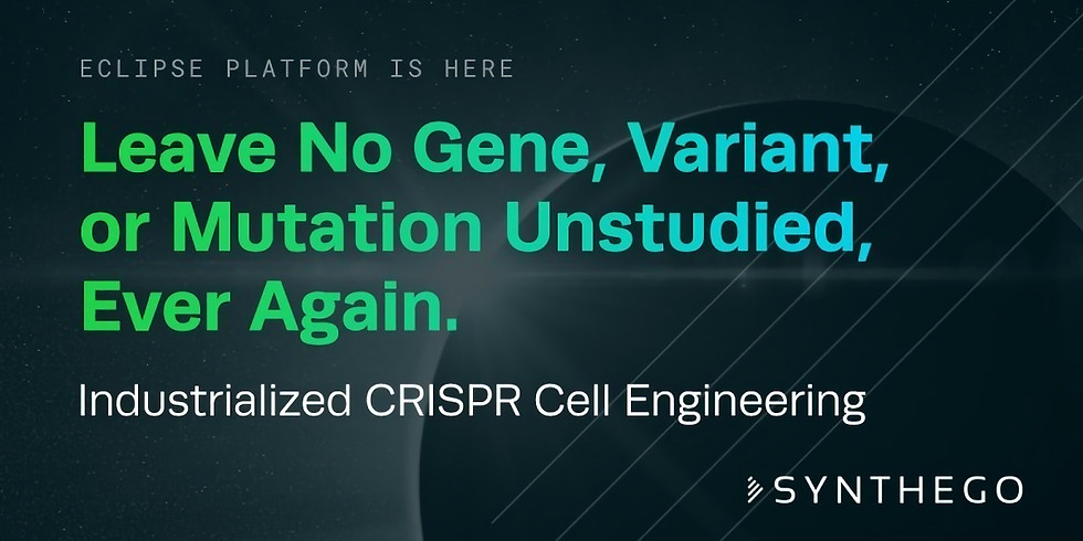 SYNBIO TALKS: Introducing CRISPR technology and its impact on the drug discovery