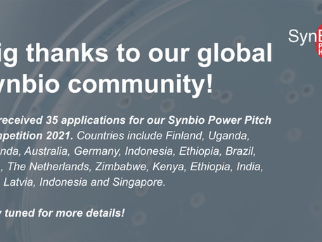 Synbio Power Pitch Update