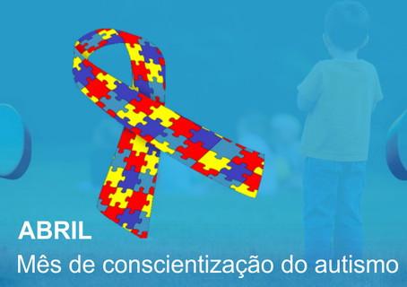 Abril Azul - Mês de Conscientização do Autismo