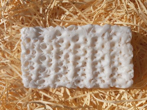 Savon exfoliant au lait frais d'ânesse