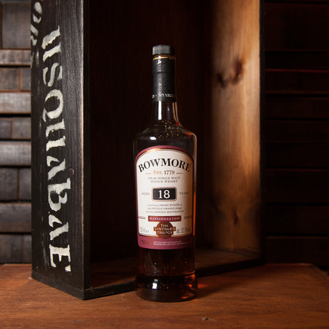 BOWMORE 18YO - THE VINTNER'S TRILOGY