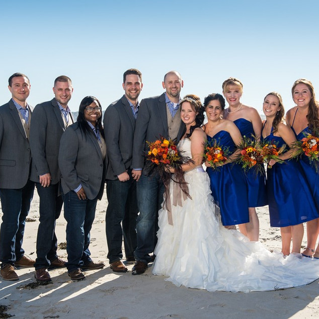 Bridal Party Beach