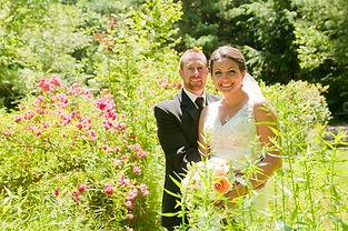Summer garden wedding at Clay Hill Farm