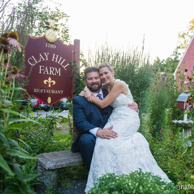 Clay Hill Farm Garden Wedding