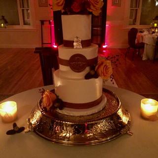 Themed Wedding Cake