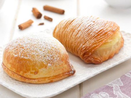 "A masterpiece of Neapolitan culinary art: the ""sfogliatella""!"